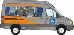 bus StoreVan Nederland bedrijfswageninrichting