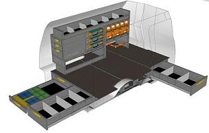 CAD tekening vloerlades