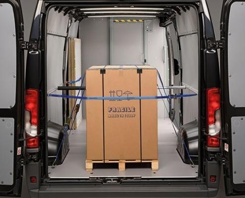 zekering van lading in uw bedrijfswagen
